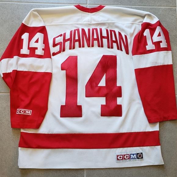 new styles b130f 70a07 Detroit Red Wings Brendan Shanahan NHL CCM Jersey